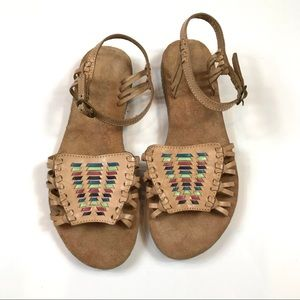 Coconuts by Matisse Leather Huaraches Sandals